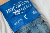 "Hot/Cold Pack - Reuseable, Microwaveable, Professional Grade Blue Pack 7.50"" x 11.00"" 1/Each"