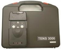 TENS 3000 Analog Stimulation Device Kit - 9V, Manual, Electrodes, Lead Wires, Case