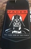 Darth Vader 'THE DARK SIDE OF THE FORCE' iPhone 5/5S Silicone Case