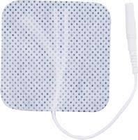 "2.00"" Square Cloth BodyMed Electrodes (50) - 4/Pks = 200 Total"